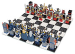 Sound the square raid sirens - Vikings are pillaging the chessboard!