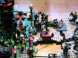 Megablox vs lego battle 1