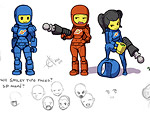 Counterparts to the Deadly Spaceman: Spacefemme Fatales?